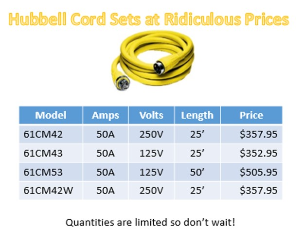 Hubbell Cord Sets